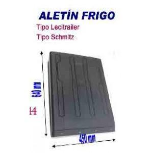 ALETIN PLASTICO 640 X 450 (Tipo LECITRAILER/SCHMITZ)