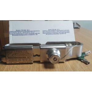 CIERRE SEGURIDAD INOX 230-330 mm (PTR408)