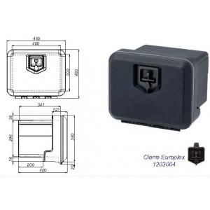 CAJON PLASTICO 480X400X400 (1 CIERRE)