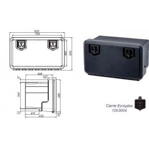 CAJON PLASTICO 830X500X470 (2 CIERRES)