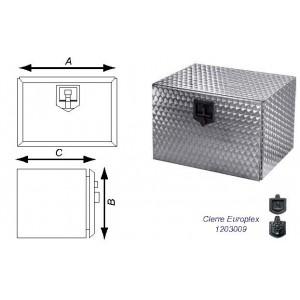 CAJON ACERO INOX.FLOREADO 450/500/600 (1 CIERRE)