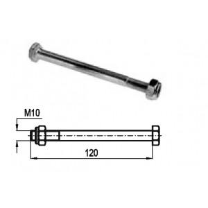 TORNILLO M.10 X 120 C/TUERCA AUTOBL.INOX